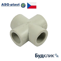 Крестовина Полипропиленовая 63 Asg-Plast (Чехия)