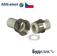 Полипропилен Разборное Соединение Ø50 Asg-Plast (Чехия)