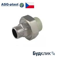 Полипропилен Сгон Американка 40Х1 1/4 Рн Asg-Plast (Чехия)