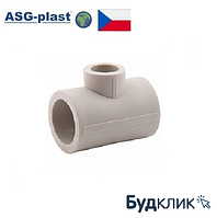 Полипропилен Тройник Редукционный 63Х32Х63 Asg-Plast (Чехия)