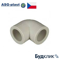 Полипропиленовый Угол Ø32Х90° Asg-Plast (Чехия)