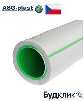 Труба Полипропиленовая Asg Classic (Green Pipe) Pn16 Ø63Х8,7 (Чехия)