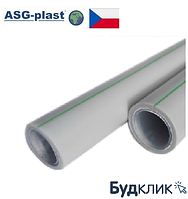 Труба Полипропиленовая Asg Nano Ag Pn20 Ø50Х6,1 Композит (Чехия)