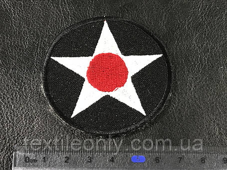 Нашивка Звезда (star) 60 мм, фото 2