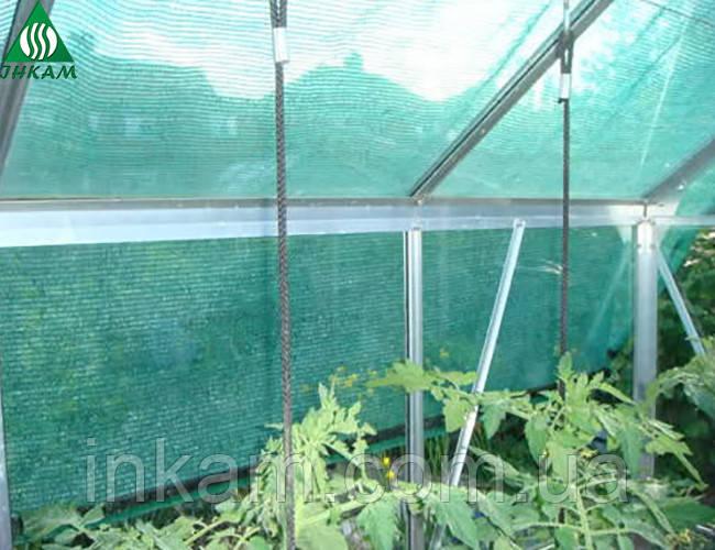 Затіняюча сітка для теплиць 45% 6мх100м