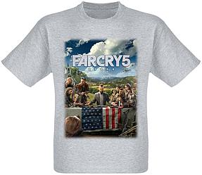 Футболка Far Cry 5 (меланж)