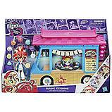 My Little Pony Девочки эквестрии грузовик суши Equestria Girls Rollin' Sushi Truck Minis, фото 2