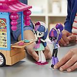 My Little Pony Девочки эквестрии грузовик суши Equestria Girls Rollin' Sushi Truck Minis, фото 5