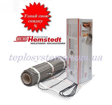 Нагревательный мат Hemstedt DH  1,0 м2 150 Вт, фото 2