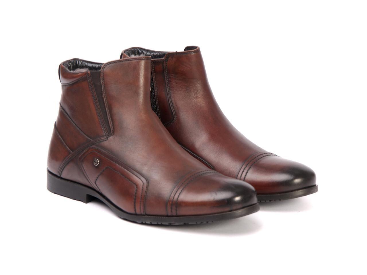 Ботинки Etor 9193-674 коричневые