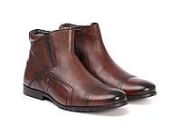 Ботинки Etor 9193-674 коричневые, фото 1