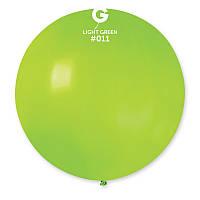 """Надувные шары сюрприз Gemar G220 Пастель салатовый 31"""" (80 см)"""