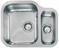 Кухонная Мойка CM CINZIA 57,7X47 2V SOTTOTOP SATINATO подстольный монтаж