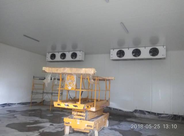 Монтаж воздухоохладителй