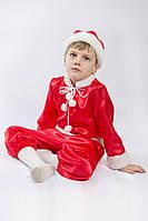 Детский карнавальный костюм «Новый Год» красный