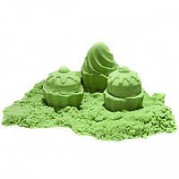 Кинетический песок зеленый 1кг