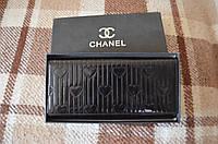 Женский кошелек черный Chanel