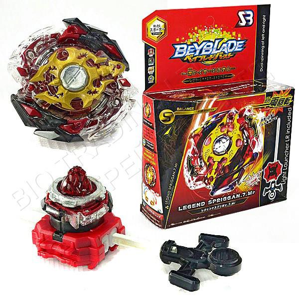 Игрушка-волчок БейБлейд Взрыв BeyBlade Burst Legend Spryzen Легендарный Спрайзен (3 сезон) В86