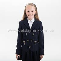 """Школьный пиджак  для девочки """"Снежана"""",Новинка 2018 года, фото 1"""