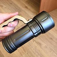 Ручной мощный Светодиодный Аккумуляторный Фонарь Police BL-T-801-9, Фонарик для дома, кемпинга или рыбалки