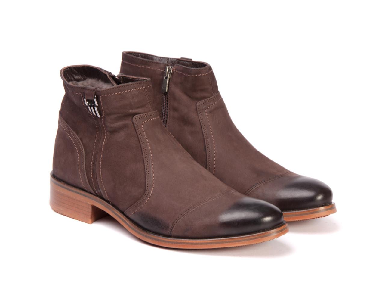 Ботинки Etor 9926-5754 коричневые
