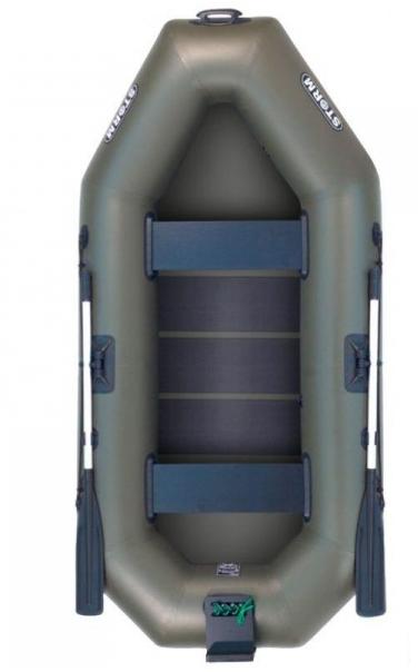 Надувная лодка Шторм st260dt двухместная гребная