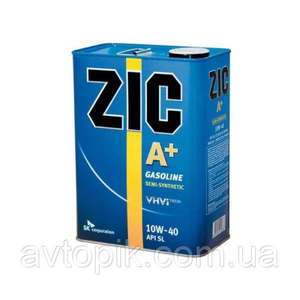 Моторное масло ZIC A+ 10W-40 (4л.)
