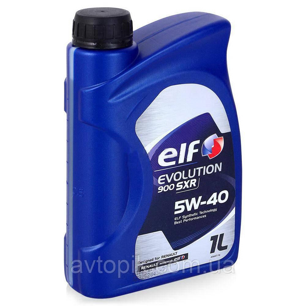 Моторное масло Elf Evolution 900 SXR 5W-40 (1л.)