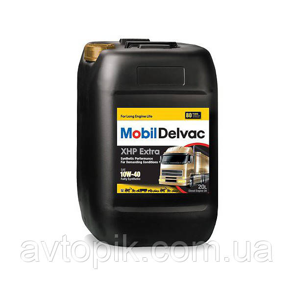 Моторное масло Mobil 1 Delvac MX Extra 10W-40 (20л.)