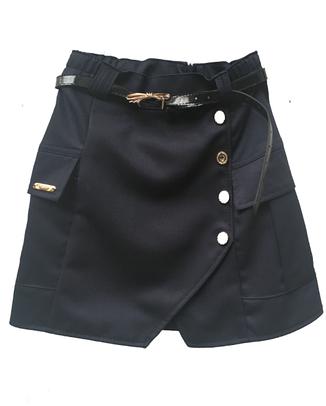 Школьная юбка с накладными карманами, фото 2