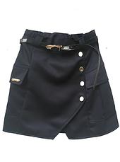 Школьная юбка с накладными карманами, фото 3