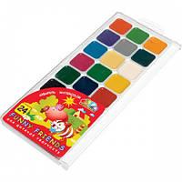 Фарби акварельні 24 кольорів