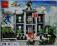 "Конструктор Brick 825""Штаб"""
