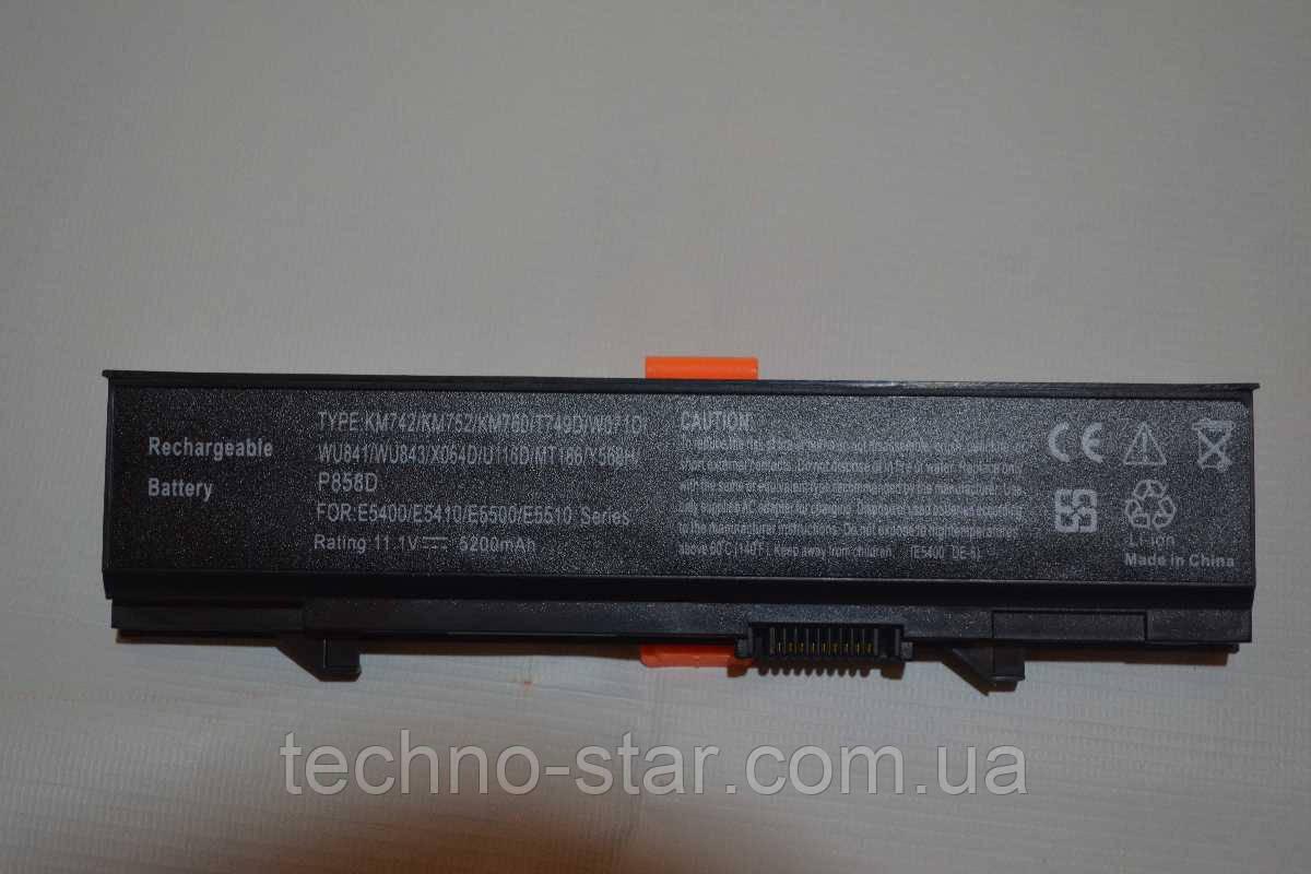 Аккумулятор Dell KM752 KM668 MT332 PW640 RM668 T749D U116D WU843 WU852 X064D Latitude E5400 E5410 E5500 E5510