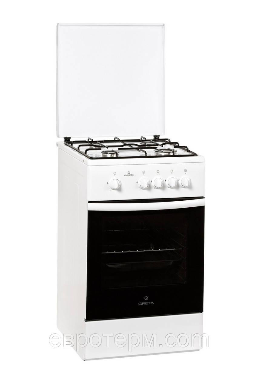 Газовая плита GRETA 1470-00-16 WM белая