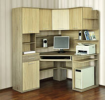 Кутовий компютерний стіл Джой (8 кольорів)