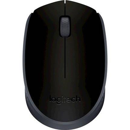 Мышь беспроводная Logitech m170 USB, фото 2