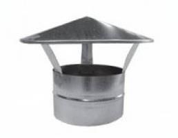 Грибок, парасолька даховий (круглий),оголовок труби димоходу Ø 100 мм