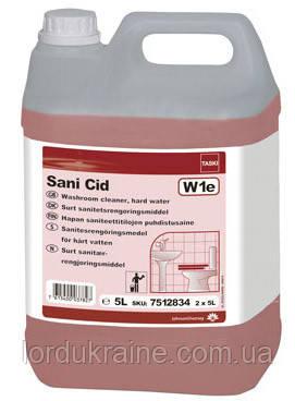 Средство для уборки и туалетных комнат (для жесткой воды) Taski Sani Cid