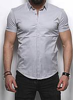 Шикарная  рубашка для мужчин на короткий рукав