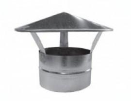 Грибок, зонт крышный (круглый), оголовок трубы дымохода Ø 200 мм