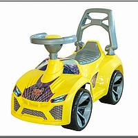 Машинка для катання ЛАМБО жовтий ОРІОН 021, фото 1