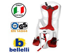 Велокрісло Bellelli Pepe Італія на раму Біле