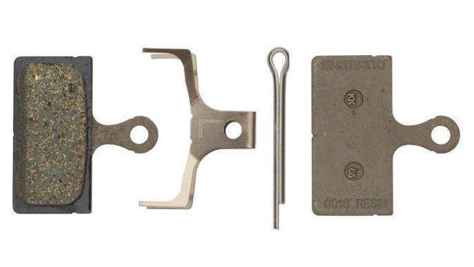 Гальмівні колодки Shimano G02S, органіка для BR-M8000/M7000 і сумісних