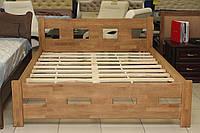 Кровать деревянная двуспальная, фото 1