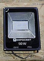 Светодиодный прожектор 50 Вт, EV 50-01, IP65, 6400К 4000Lm SMD EVRO LIGHT