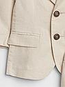 Костюм Gap для мальчика лён на годик пиджак + шорты 12-18 мес/80 см, фото 3