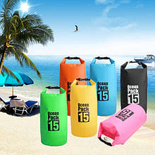 Водонепроницаемая сумка-рюкзак Ocean Pack 15L