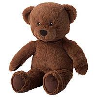 БРУНБЬЕРН Мягкая игрушка, медведь, 60364988, ИКЕА, IKEA, BRUNBJÖRN