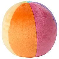 ЛЕКА Мягкая игрушка, мяч, разноцветный, 00159542, ИКЕА, IKEA, LEKA